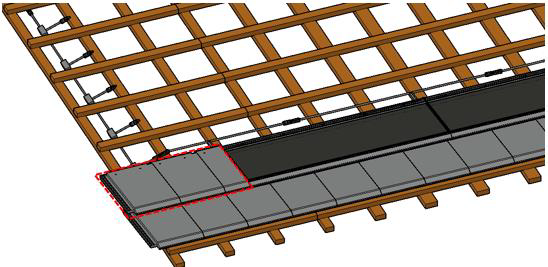 montaż dachu solarnego